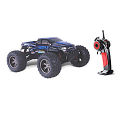 באגי מירוץ 1:12 חשמלי ללא מברשת RC רכב 2.4G אדום כתום שחור מוכן לשימוש