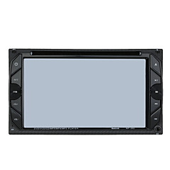 6.2 2 דין HD מגע נגן DVD לרכב סטריאו רדיו FM USB / SD המצלמה קלט MP3 / WMA / MP4 / MP5 ראס / פורטוגזית / ספרדית / צרפתית