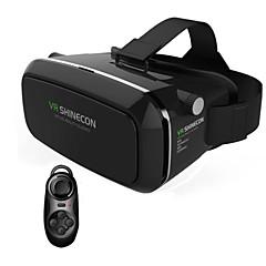 vr virtuelle virkeligheten 3d briller headset hode montere 3d for 3,5 til 6,0 tommer telefon + bluetooth fjernkontroll