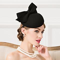 Γυναικείο Μαλλί Headpiece-Γάμος Ειδική Περίσταση Καθημερινά Καπέλα 1 Τεμάχιο