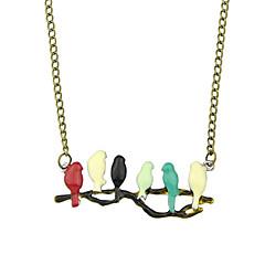 Gargantillas Sin piedra Collares con colgantes Joyas Fiesta / Diario / Casual Moda Legierung Mujer 1 pieza Regalo Dorado