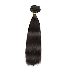 9Pcs/Set Deluxe 120g Clip In Hair Extensions Natural Black 16Inch 20Inch 100% Human Hair For Women