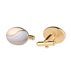 Groom Groomsman Ring Bearer Gifts Piece/Set Cufflinks & Tie Clips Classic Modern CreativeWedding Anniversary Birthday Congratulations