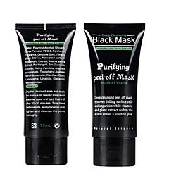 sací černá maska hloubkové čištění pleti pleťová maska černá hlava trhání styl odolat jahoda nos akné odstraňovač pupínek bahenní