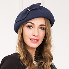 נשים סגסוגת צמר כיסוי ראש-חתונה אירוע מיוחד קז'ואל קישוטי שיער כובעים חלק 1