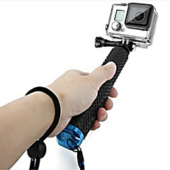 Accessories For GoPro,Telescopic Pole Monopod Handgrepen BevestigingVoor-Actiecamera,Gopro Hero 5/4/3/3+/2/1 1pcs metalen rubber