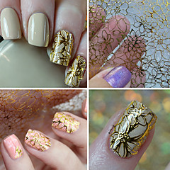 1 Nail Art Sticker Adesivi 3D unghie makeup Cosmetic Nail Art Design