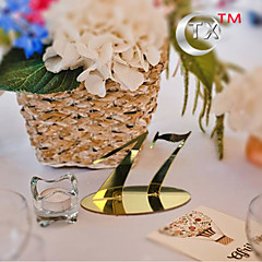 Plastic Table Number Cards 1 Standing Style Gift Bag