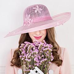 נשים דמוי פנינה פשתן כיסוי ראש-חתונה אירוע מיוחד קז'ואל כובעים חלק 1