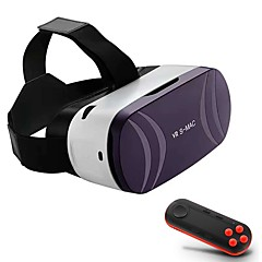 Bluetooth Capacitive Touch Version Ultra HD 3D Virtual Reality Glasses for Smartphone with Gamepad