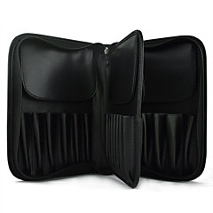 MAKE-UP FOR YOU Large Black Cosmetic Brush Bag