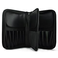 Ukládání make upu Kosmetická taška / Ukládání make upu PU Jednobarevné Kvadrát 26*17*6 Black Fade