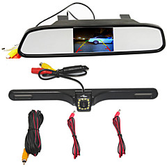 OEM商品 WG34 Zoran 480p 車のDVR 4.3 インチ スクリーン no ダッシュカム