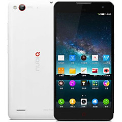 "nubia Z7 Max 5.5 "" Android 4.4 Celular 4G ( Chip Duplo Quad núcleo 13 MP 2GB + 32 GB Preto / Branco )"