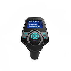 bluetooth fm transmitter támogatás TF kártya, U lemez, autós töltő
