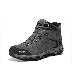 Tênis de Caminhada Sapatos de Montanhismo Homens Anti-Escorregar Anti-desgaste Respirável Vestível Ao ar Livre Cano Alto CamurçaCouro