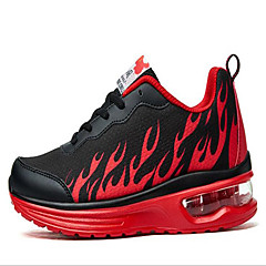 Sneakers Vandringssko Løbesko Herre Anti-glide Anti-Rystelse Slidsikkert Ultra Lys (UL) Udendørs PVC-læder GummiLøbe Fornøjelse Sport