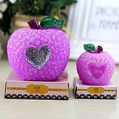 Rose Apple Shape Candle