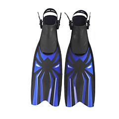 Fins de Mergulho Reguladores Não são necessárias ferramentas Ajustável Pala Longa Mergulho e Snorkeling Natação Plástico