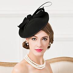 נשים נוצה צמר כיסוי ראש-חתונה אירוע מיוחד קז'ואל קישוטי שיער כובעים חלק 1