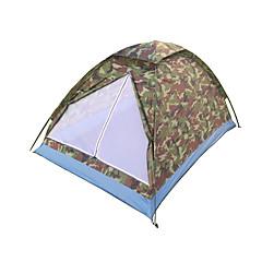 2 אנשים אוהל יחיד חדר אחד קמפינג אוהל סיבי פחמן PU עמיד למים נשימה עמיד לאבק נגד חרקים עמיד ברוח קל במיוחד(UL) נגד יתושים מתקפל נייד-