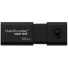 Kingston DT100G3 16GB USB 3.0 Flash Drive Mini Ultra-Compact