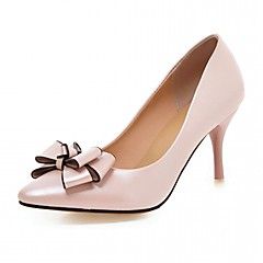 Women's Heels Spring Summer Fall Winter Comfort Novelty PU Synthetic Wedding Office & Career Party & Evening Dress Casual Stiletto Heel