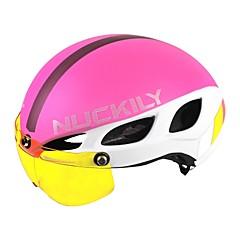 ספורטיבי Unisex Pyörä Helmet Halkiot Pyöräily Pyöräily Maastopyöräily Maantiepyöräily Virkistyspyöräily L: 58-61CM PC EPSValkoinen