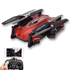Dron TK 4Kanály 6 Osy 2.4G S 720P HD kamerou RC kvadrikoptéraFPV LED Osvětlení Jedno Tlačítko Pro Návrat Auto-Vzlet Failsafe Headless