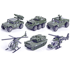 Armeijan ajoneuvo ajoneuvo Leikkisetit 1:87 Muovi Metalli Vihreä