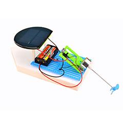צעצועים לבנים צעצועי דיסקברי צעצועים המופעלים באנרגית השמש מכונית פלסטיק