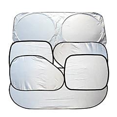 acessórios do carro janela do carro pára-sol do carro pára-brisa viseira bloco de cobertura janela da frente pára-sol UV protegem 6pcs