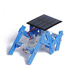 צעצועים לבנים צעצועי דיסקברי צעצועים המופעלים באנרגית השמש רובוט מתכת פלסטיק חום