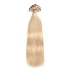 9Pcs/Set Deluxe 120g Clip In Hair Extensions Piano Blonde 16Inch 20Inch 100% Straight Human Hair For Women