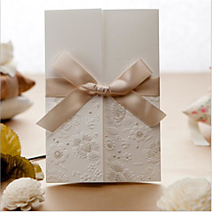 Non-personalized Side Fold Wedding Invitations Envelope Sticker Invitation Cards Engagement Party Cards-50 Piece/Set Modern StyleArt