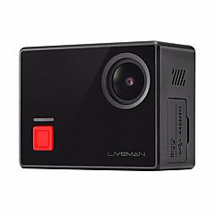 Actiecamera / Sportcamera 16MP WIFI Aanraakscherm Panorama Groothoek 120 fps 1.5 CMOS 64 GB Burstmodus Time-lapse-fotografie 40 M