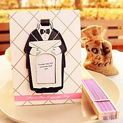 פוליאסטר כרטיסי מקום מחזיקי כרטיס מקום כרטיסי מספר שולחן סגנון עמידה שקית פלסטיק