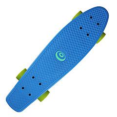 22,5 polegadas Cruisers skate Profissional PP (Polipropileno) ABEC-7-Amarelo Vermelho Verde Azul Rosa claro