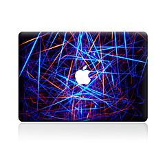 1 stk Motstår Risser Geometrisk Gjennomsiktig plast Klistremerke Mønster TilMacBook Pro 15'' med Retina MacBook Pro 15 '' MacBook Pro