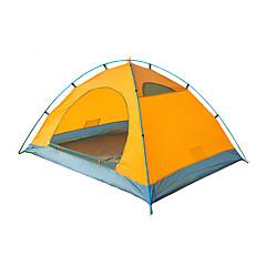 2 osobe Šator Dvaput Obiteljski šatori za kampiranje Jedna soba šator za kampiranje PolyesterVodootporno Prozračnosti Otporno na kišu