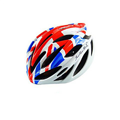 Sports Unisex Bike Helmet 25 Vents Cycling Cycling Mountain Cycling Road Cycling One Size PC EPS White Red Black Blue