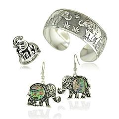 jóias 1 par de brincos anéis pulseiras&pulseiras festa de casamento ocasião especial do dia das bruxas liga diariamente 1set