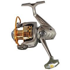 גלילי דיג סלילי טווייה 5.1:1 8 מיסבים כדוריים ניתן להחלפה דיג בים Spinning דייג במים מתוקים דיג קרפיון דיג כללי חכות וסירת דיג-JSM5000