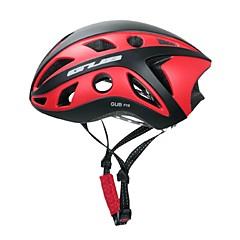 ספורטיבי יוניסקס אופניים קסדה 22 פתחי אוורור רכיבת אופניים רכיבה על אופניים PC EPS אדום