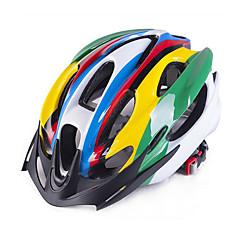 Unisex Jezdit na kole Helma 18 Větrací otvory Cyklistika Cyklistika Horská cyklistika Silniční cyklistika Rekreační cyklistikaJedna
