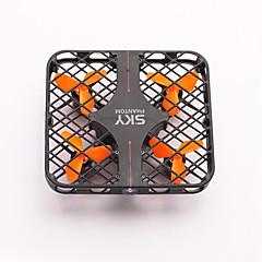 Ρομποτάκι RC 4 Kανάλια 6 άξονα 2,4 G - Ελικόπτερο RC με τέσσερις έλικεςΦωτισμός LED Επιστροφή με ένα kουμπί Σφαλμάτων Λειτουργία άμεσου