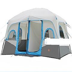 > 8 osoba Dvaput Dvije sobe šator za kampiranjePješačenje Kampiranje Putovanje-Sive boje