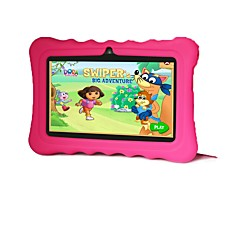 7 אינץ' הילדים Tablet (Android 4.4 1024*600 Quad Core 512MB RAM 16GB ROM)