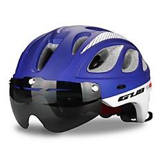Esportivo Unisexo Moto Capacete 20 Aberturas Ciclismo Ciclismo PC EPS Vermelho Cinzento Preto Azul