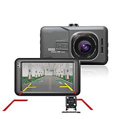 Samochód DVR kamera Dash cam samochód kreska kamera rejestrator wideo kamery Full HD 1080p Dual 170 stopni kąt g-sensor auto kamera